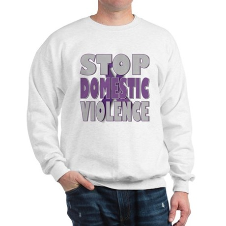 Stop Domestic Violence Sweatshirt