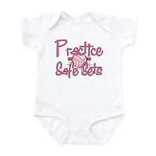 Practice Safe Sets Infant Bodysuit