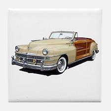 Cool Woodie cars Tile Coaster