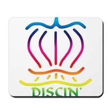 Asiatic Discin' Design Colors Mousepad