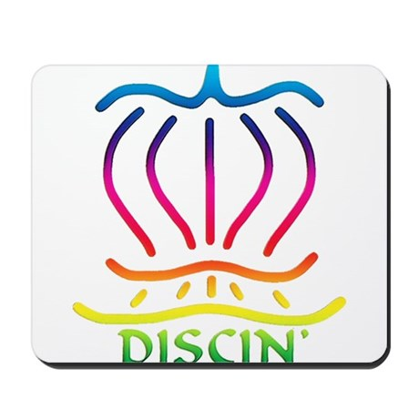 Asiatic Discin' Design Colors Mousepad