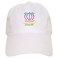Asiatic Discin' Design Colors Baseball Cap
