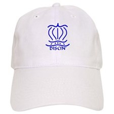 Asiatic Discin' Design Blue Baseball Cap