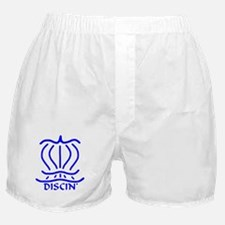 Asiatic Discin' Design Blue Boxer Shorts