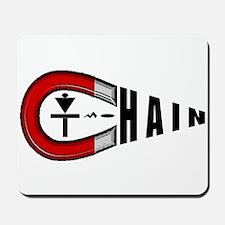 Disc Golf Chain Magnet Mousepad