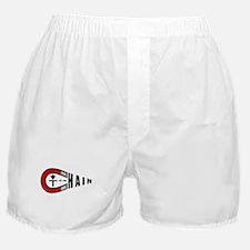 Disc Golf Chain Magnet Boxer Shorts