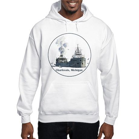 The Charlevoix, Michigan Hooded Sweatshirt