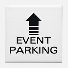 Event Parking Tile Coaster