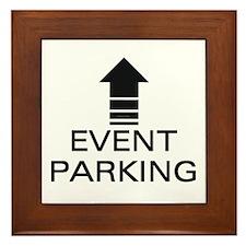 Event Parking Framed Tile