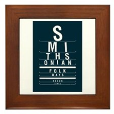 Eyechart Framed Tile