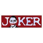 Obama Joker Bumper Sticker (10 pk)