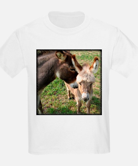 Donkey Mother's Love Kids T-Shirt