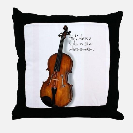 Viola Gifts Throw Pillow