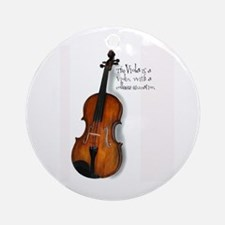 Viola Gifts Ornament (Round)