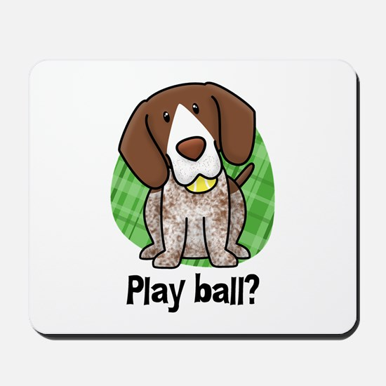 Play Ball German Shorthair Mousepad
