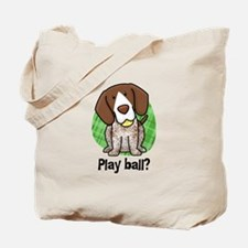 Play Ball German Shorthair Tote Bag