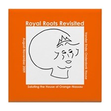 Royal Roots Revisited Tile Coaster