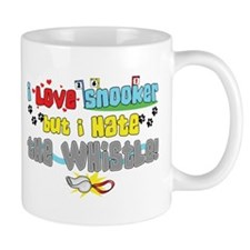 Love Snooker Hate Whistle Small Mug