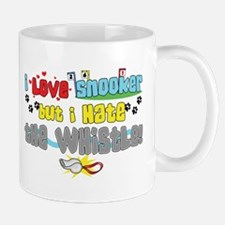 Love Snooker Hate Whistle Small Small Mug