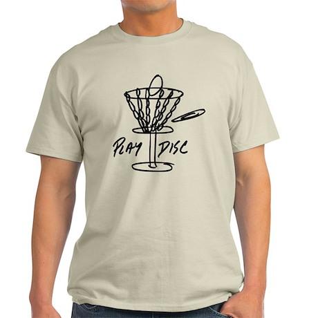 Disketch Black Disc Basket Light T-Shirt