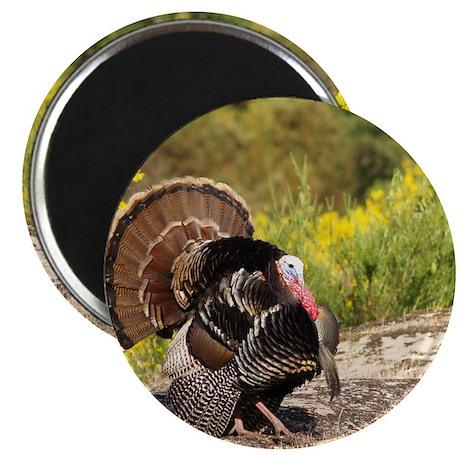 Wild Turkey Gobbler Magnet