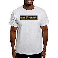 Nerd Network Ash Grey T-Shirt