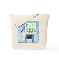 Bedtime Verse Tote Bag