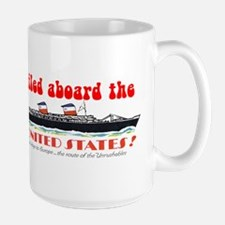 Vintage Look Big U Passenger Mug