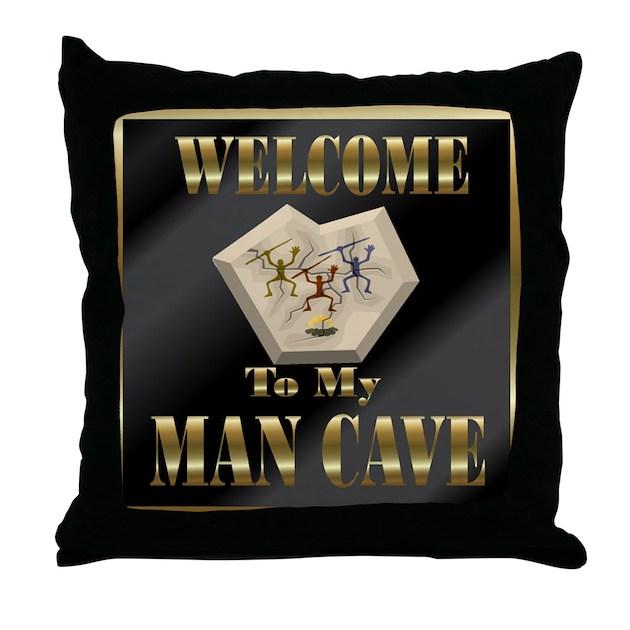 Man Cave Pillows : Man cave throw pillow by mugglefunds