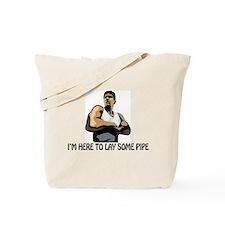 Pipe Layer Tote Bag
