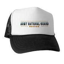 Army Guard Retired Trucker Hat