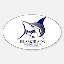 Islamorada Oval Decal