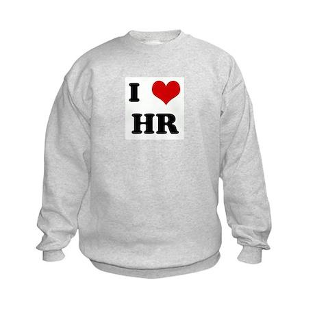 I Love HR Kids Sweatshirt