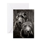 Deerhound Greeting Cards