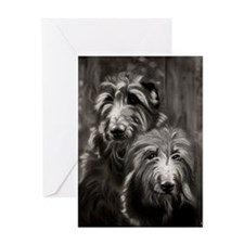 Expressions Of A Deerhound Greeting Cards