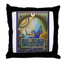 Magical Egypt Throw Pillow