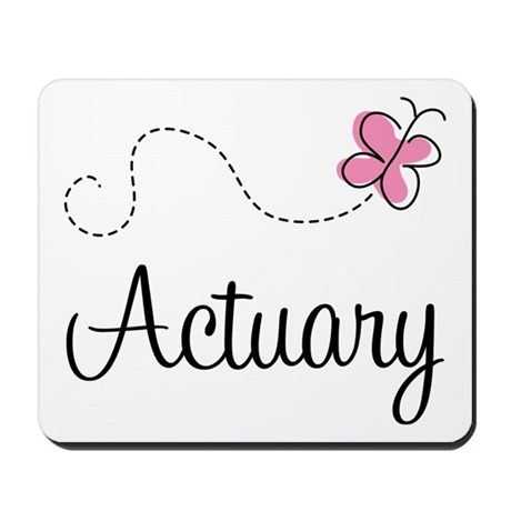 Cute Actuary Mousepad