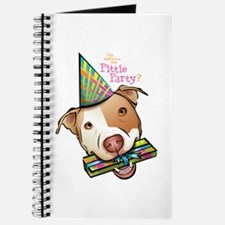 Pittie Party Journal