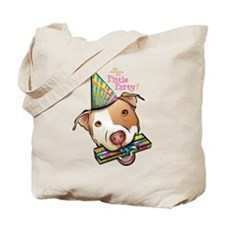 Pittie Party Tote Bag