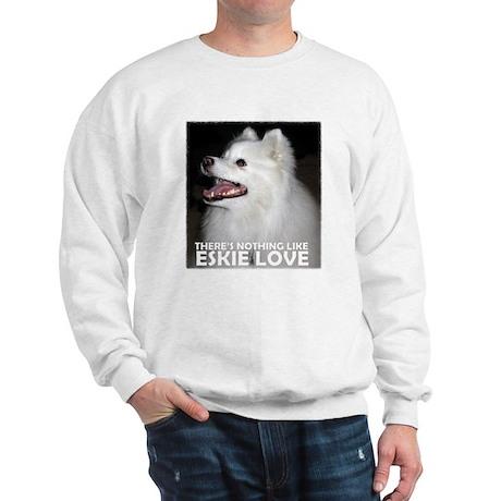 """American Eskimo """"Eskie Love"""" Sweatshirt"""