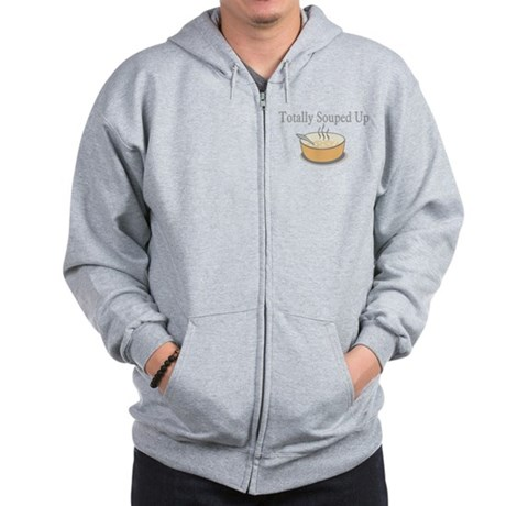 Totally Souped Up Zip Hoodie