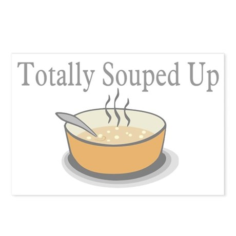 Totally Souped Up Postcards (Package of 8)