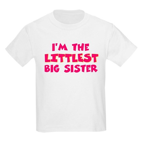 Littlest big sister Kids Light T-Shirt