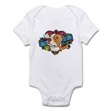 Lucky in Love Infant Bodysuit
