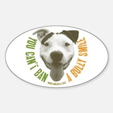 Bully Smile Oval Decal