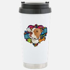Lucky in Love Stainless Steel Travel Mug
