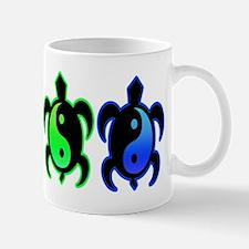 Multicolor Yin Yang Turtles Mug