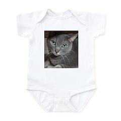 Russian Blue Cat Infant Bodysuit