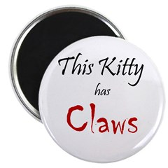 Kitty Claws Magnet