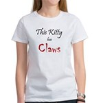 Kitty Claws Women's T-Shirt